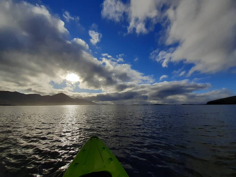 """""""Kayaking Clew Bay"""" by Michael Kearns"""