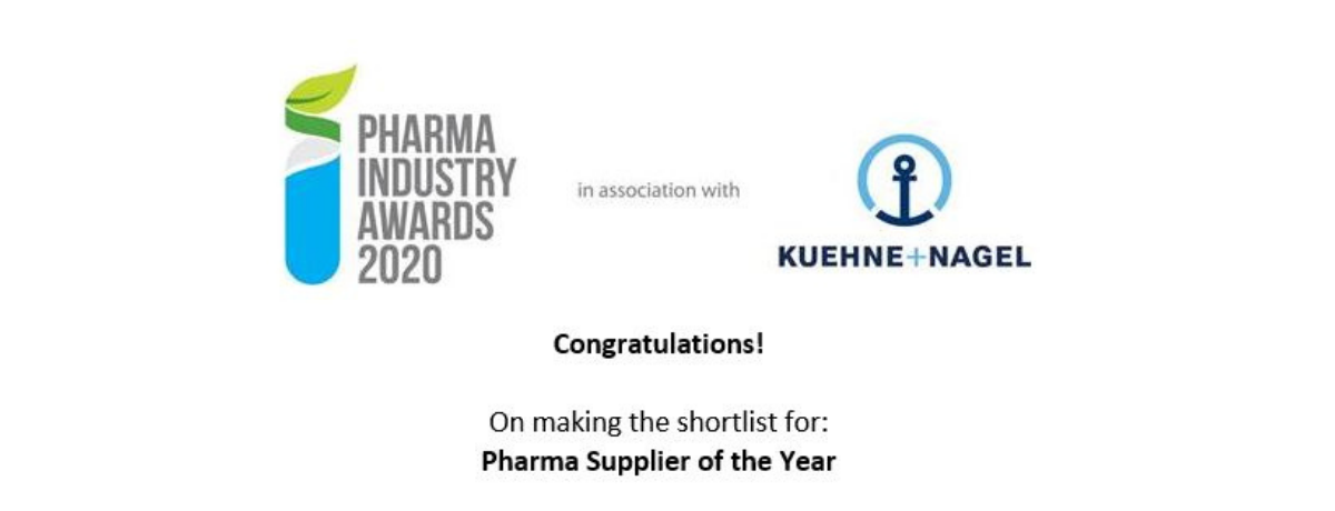 Tandem shortlisted for Pharma Supplier of the Year Award