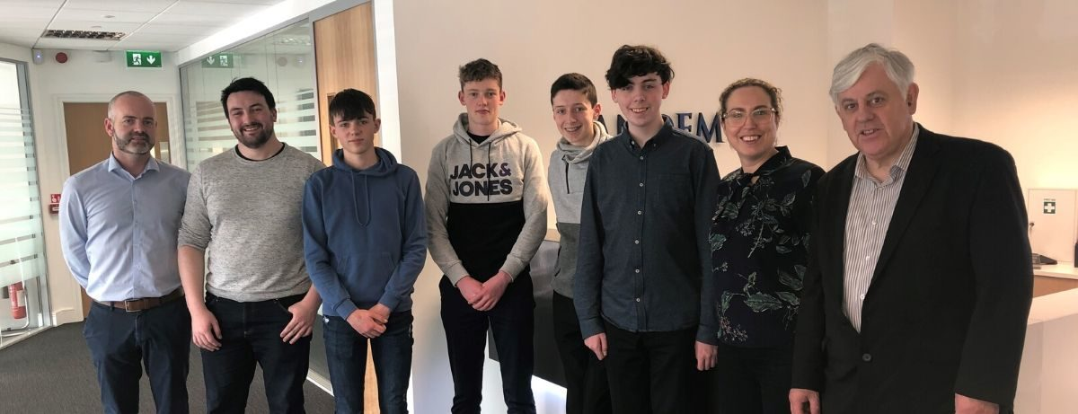 Transition Year Students Visit Tandem
