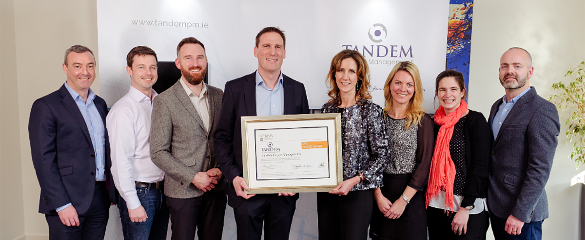 Engineers Ireland CPD Accreditation – Parchment Presentation